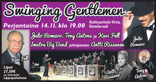 Swinging Gentlemen 14.11.2014 19:00
